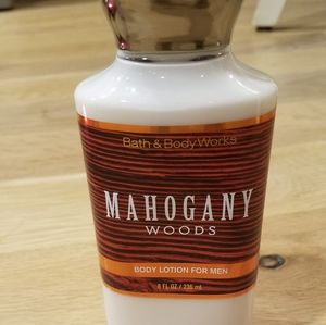 Mahogany Woods Body Lotion for Men